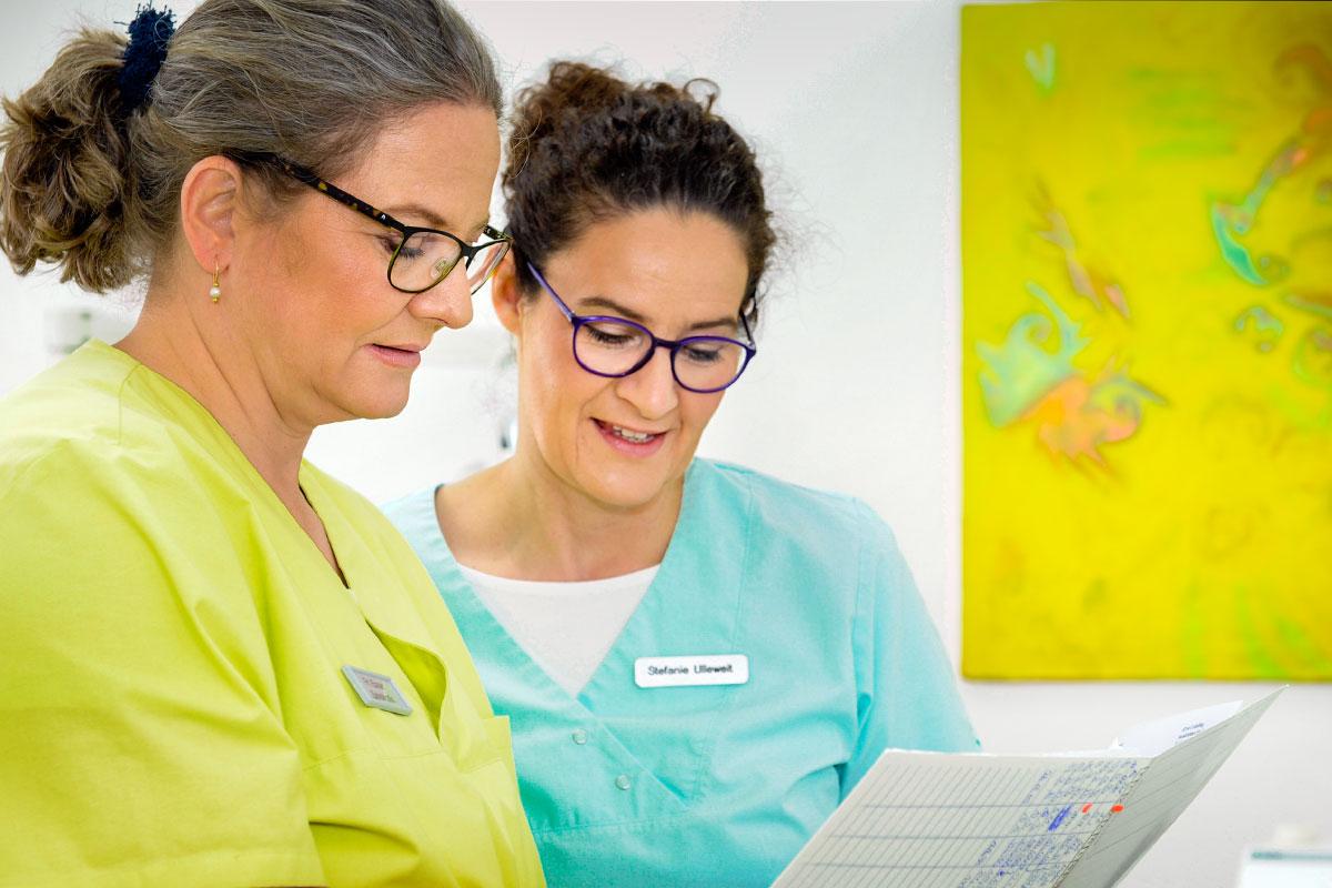 Zahnärztinnen Stefanie Ulleweit & Brigitte Exner